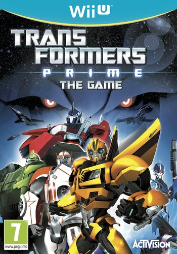 Transformers Prime: The Game WiiU coverM (ATRP52)