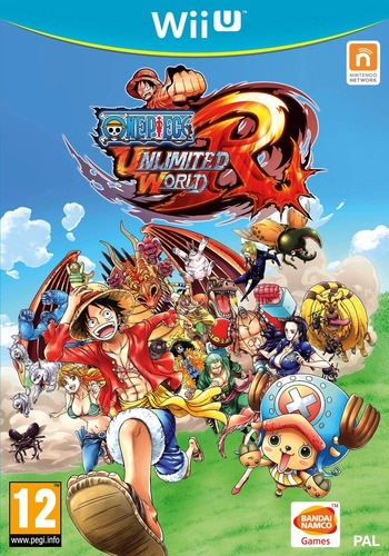 One Piece: Unlimited World Red WiiU coverM (AUNPAF)
