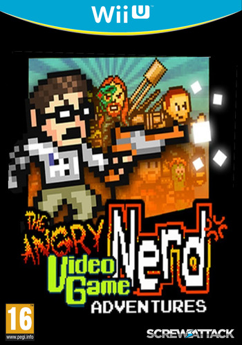 Angry Video Game Nerd Adventures WiiU coverM (AVGP)