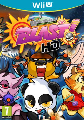 Wicked Monsters Blast! HD PLUS WiiU coverM (AWMP)