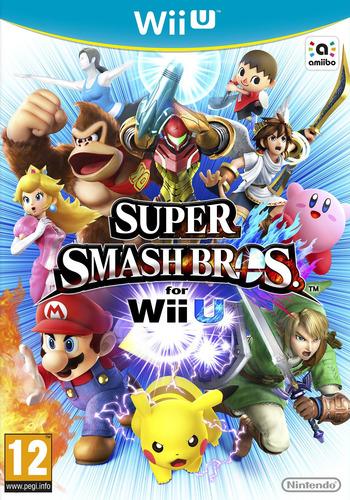 Super Smash Bros. for Wii U WiiU coverM (AXFP01)