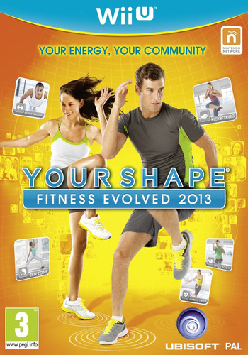 Your Shape: Fitness Evolved 2013 WiiU coverM (AYSP41)