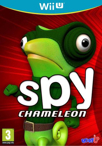 Spy Chameleon WiiU coverM (BC9P)
