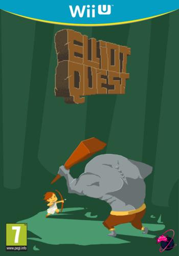 Elliot Quest WiiU coverM (BEQP)