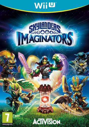 Skylanders Imaginators WiiU coverM (BL6P52)