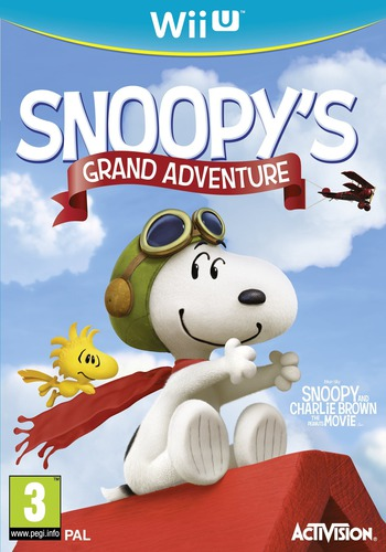 The Peanuts Movie: Snoopy's Grand Adventure WiiU coverM (BPEP52)