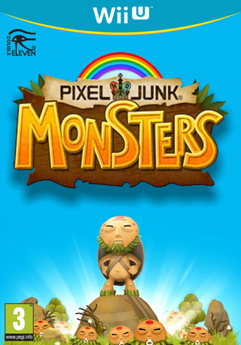PIXELJUNK MONSTERS WiiU coverM (BPHP)