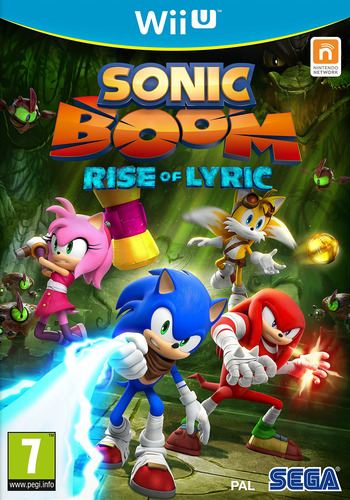 Sonic Boom: Rise of Lyric WiiU coverM (BSSP8P)