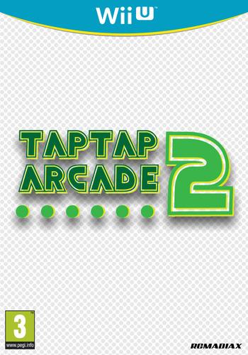 TAP TAP ARCADE 2 WiiU coverM (BTNP)