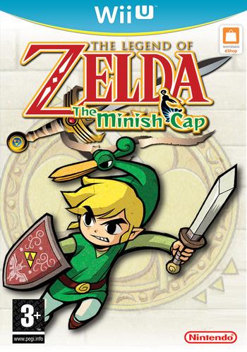 The Legend of Zelda: The Minish Cap WiiU coverM (PAKP)