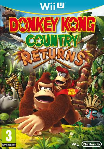 Donkey Kong Country Returns WiiU coverM (VABP)