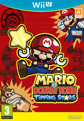 Mario vs. Donkey Kong: Tipping Stars WiiU coverM (WAFP)