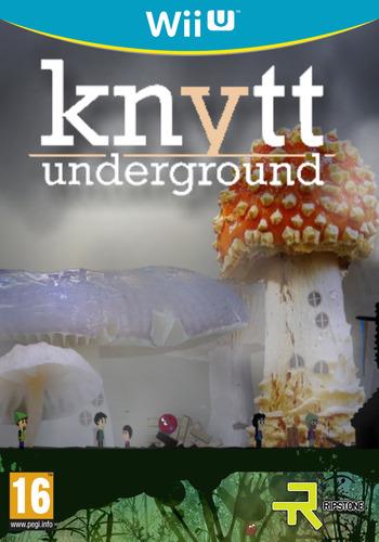 Knytt Underground WiiU coverM (WBCP)