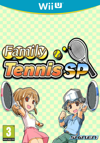 Family Tennis SP WiiU coverM (WLKP)