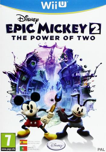 Disney Epic Mickey 2: El retorno de dos héroes WiiU coverM (AEMS4Q)
