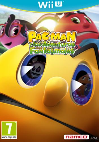 Pac-Man y las Aventuras Fantasmales WiiU coverM (APCPAF)
