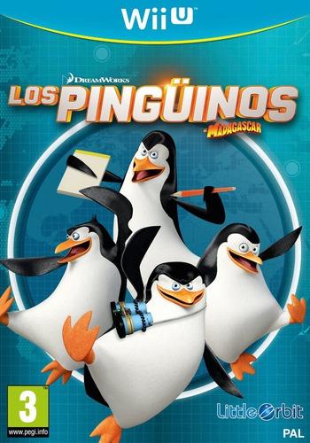 Los Pingüinos de Madagascar WiiU coverM (APGPVZ)