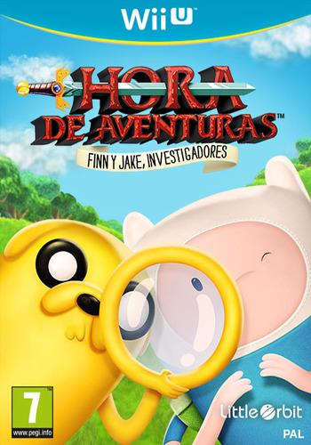 Hora de aventuras: Finn y Jake, investigadores WiiU coverM (BFNPVZ)