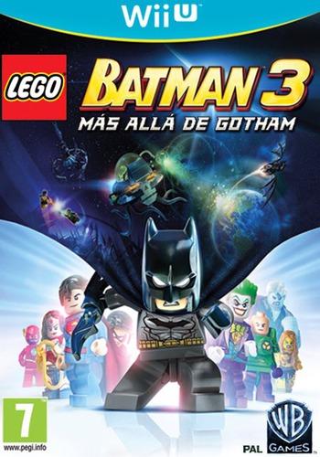 LEGO Batman 3: Más allá de Gotham WiiU coverM (BTMPWR)