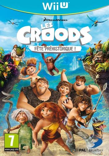 Les Croods:Fête Préhistorique ! WiiU coverM (ACRPAF)