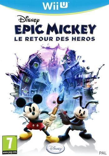 Disney Epic Mickey:Le retour des héros WiiU coverM (AEMP4Q)