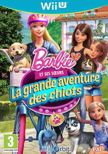 Barbie et ses soeurs:La grande aventure des chiots WiiU coverM (BRQPVZ)