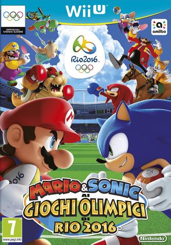 Mario & Sonic ai Giochi Olimpici di Rio 2016 WiiU coverM (ABJP01)