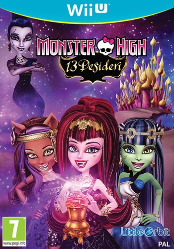 Monster High: 13 Desideri WiiU coverM (AC2PVZ)
