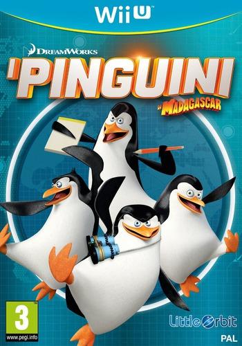 I Pinguini di Madagascar WiiU coverM (APGPVZ)
