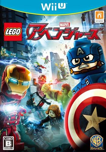LEGO マーベル アベンジャーズ WiiU coverM (ALRJWR)