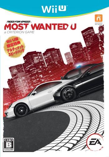ニード・フォー・スピード モスト・ウォンテッドU WiiU coverM (ANSJ13)