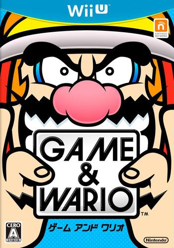 ゲーム&ワリオ WiiU coverM (ASAJ01)