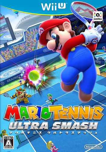 マリオテニス ウルトラスマッシュ WiiU coverM (AVXJ01)