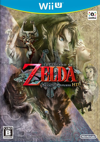 ゼルダの伝説 トワイライトプリンセス HD WiiU coverM (AZAJ01)