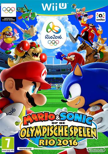 Mario & Sonic op de Olympische Spelen Rio 2016 WiiU coverM (ABJP01)