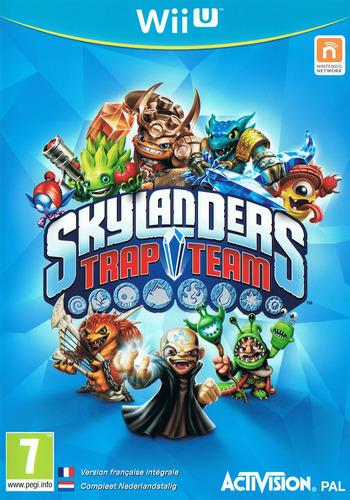 Skylanders: Trap Team WiiU coverM (BK7P52)