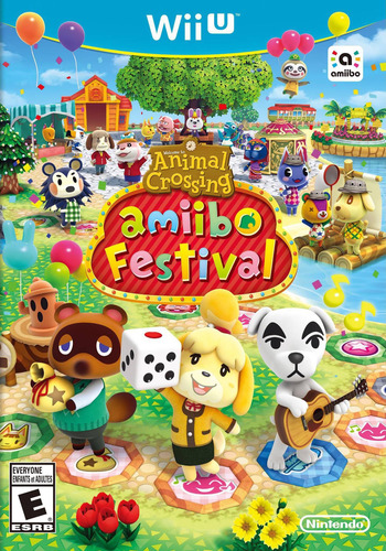 Animal Crossing: amiibo Festival WiiU coverM (AALE01)