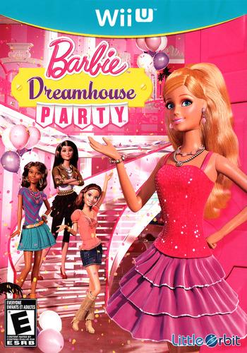 Barbie: Dreamhouse Party WiiU coverM (ABBEVZ)
