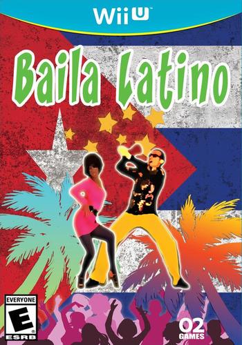 Baila Latino WiiU coverM (ABLE)