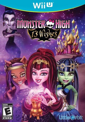 Monster High: 13 Wishes WiiU coverM (AC2EVZ)