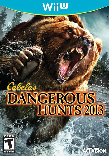 Cabela's Dangerous Hunts 2013 WiiU coverM (ACAE52)
