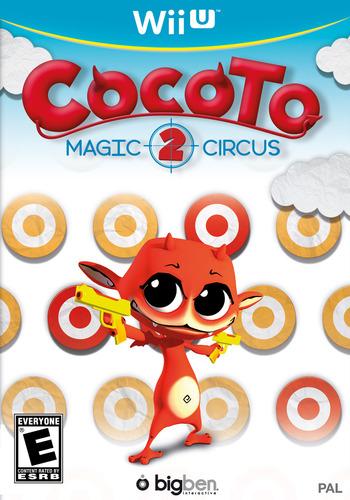 Cocoto Magic Circus 2 WiiU coverM (ACCE)