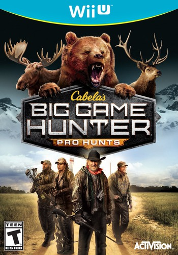 Cabela's Big Game Hunter: Pro Hunts WiiU coverM (ACEE52)