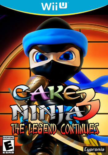 Cake Ninja 3: The Legend Continues WiiU coverM (ACNE)