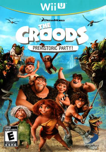 The Croods: Prehistoric Party! WiiU coverM (ACREG9)
