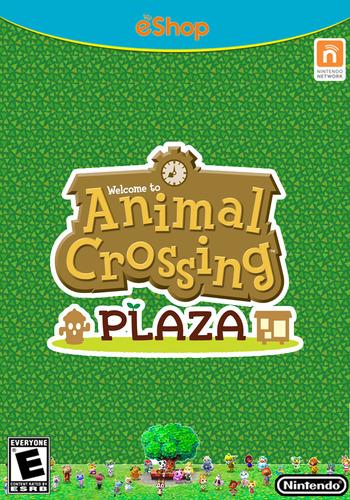 Animal Crossing Plaza WiiU coverM (ADBE)