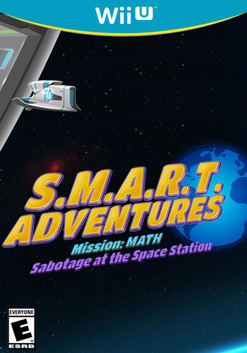 SMART Adventures Mission Math: Sabotage at the Space Station WiiU coverM (ADME)