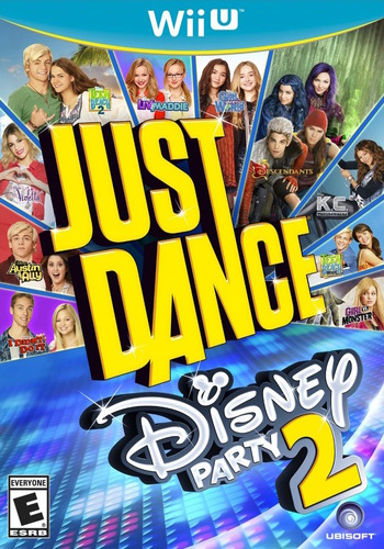 Just Dance Disney Party 2 WiiU coverM (ADPE41)