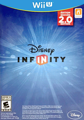 Disney Infinity: Marvel Super Heroes - 2.0 Edition WiiU coverM (ADRE4Q)