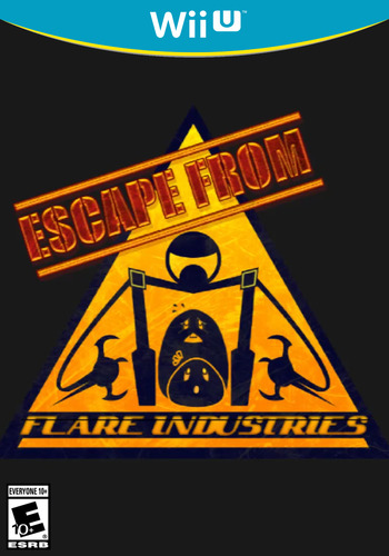 Escape From Flare Industries WiiU coverM (AEFE)